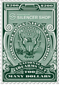 Power by Silencer Shop Tax Stamp